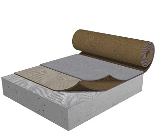 Under screed floor systems